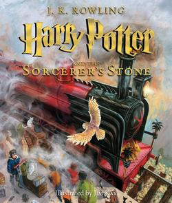 Harry Potter and the Sorcerer's Stone: The Illustrated Edition (Harry Potter, Book 1), Volume 1: The Illustrated Edition book