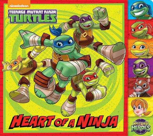 Heart of a Ninja book