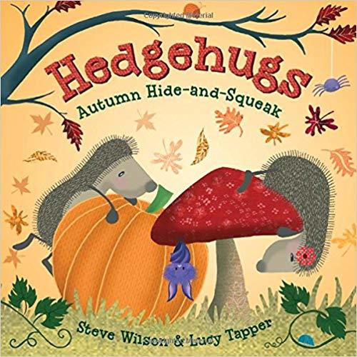 Hedgehugs: Autumn Hide-and-Squeak book