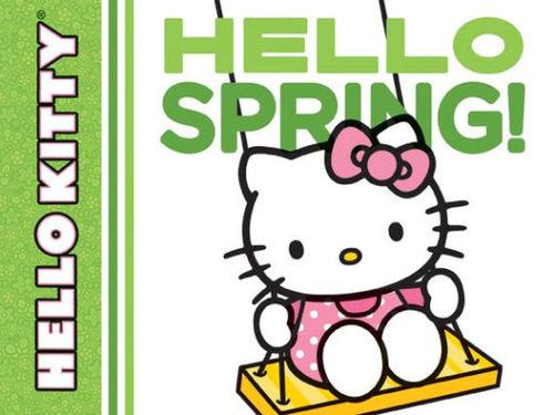 Hello Kitty, Hello Spring! book