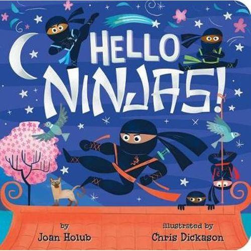 Hello Ninjas! book