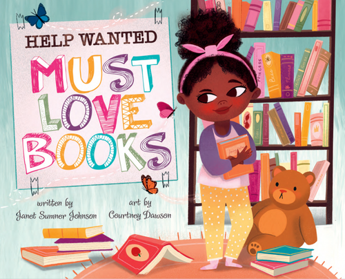 Help Wanted, Must Love Books book