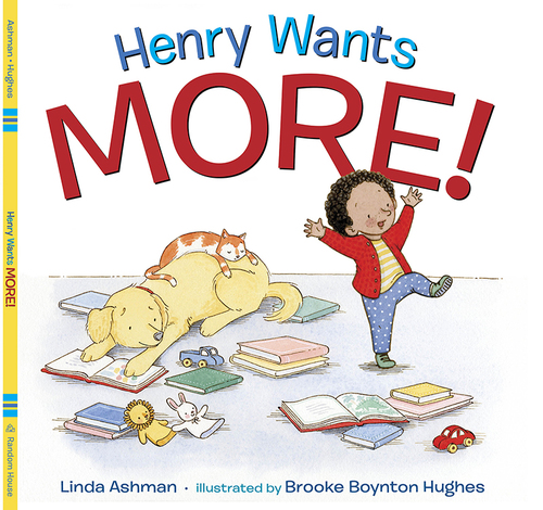 Henry Wants More! Book