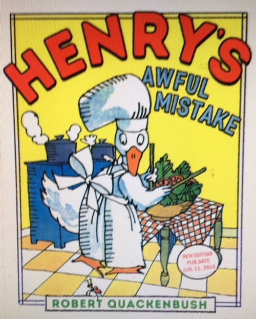 Henry's Awful Mistake Book