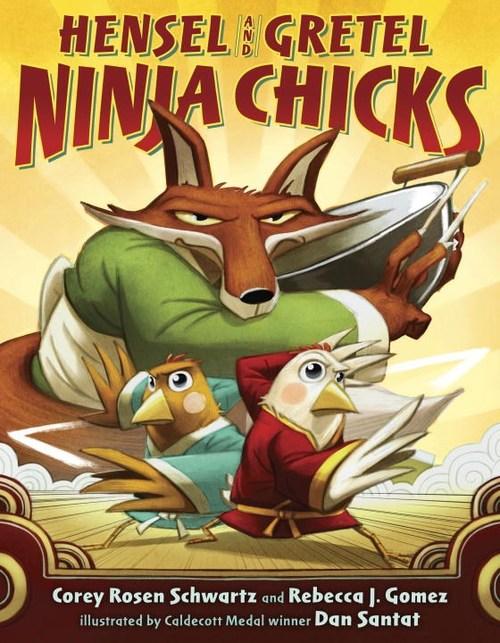 Hensel and Gretel, Ninja Chicks book