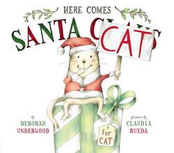 Here Comes Santa Cat book
