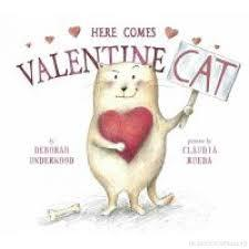Here Comes Valentine Cat book