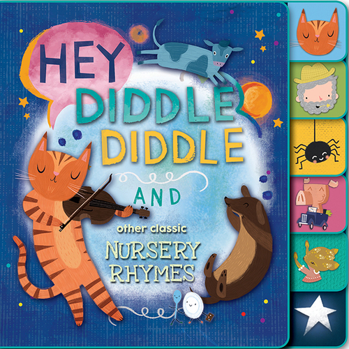 Hey Diddle Diddle and Other Nursery Rhymes book