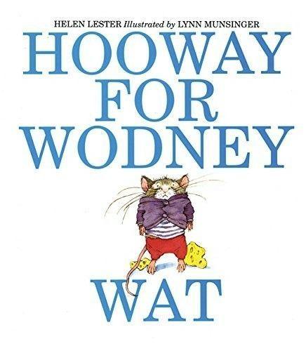 Hooway for Wodney Wat book