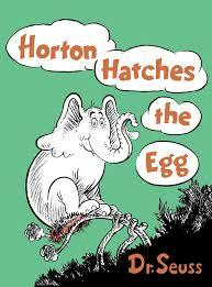 Horton Hatches the Egg book