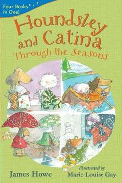 Houndsley and Catina through the seasons book
