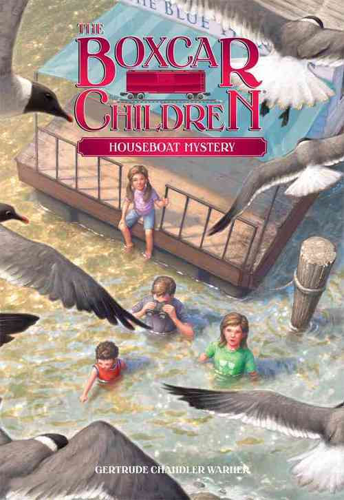 Houseboat Mystery book