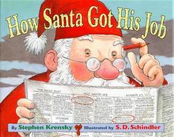 How Santa Got His Job book