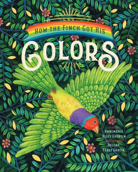 How the Finch Got His Colors book