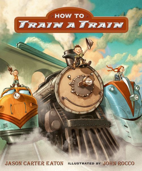 How to Train a Train book