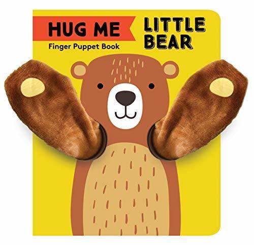 Hug Me Little Bear: Finger Puppet Book book