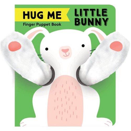 Hug Me Little Bunny: Finger Puppet Book book