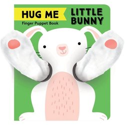Hug Me Little Bunny: Finger Puppet Book book
