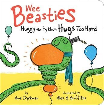 Huggy the Python Hugs Too Hard book
