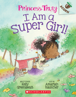 I Am a Super Girl! book