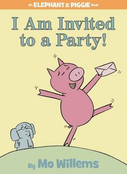 I Am Invited to a Party! book