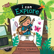 I Can Explore book