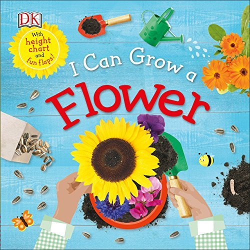 I Can Grow a Flower book