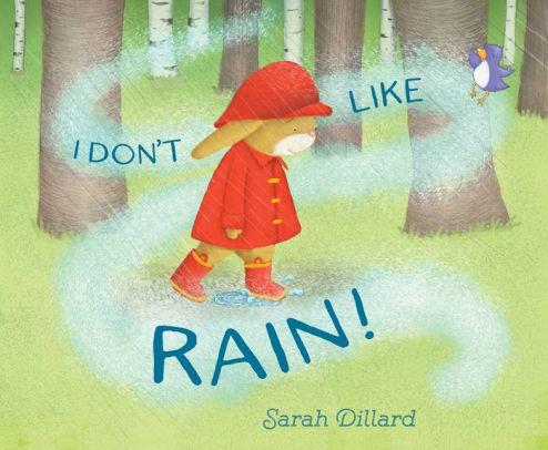 I Don't Like Rain! book