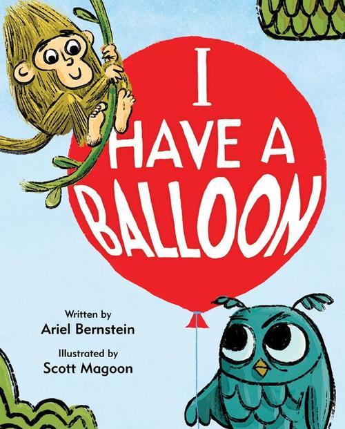 I Have a Balloon book