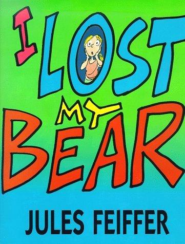I Lost My Bear book