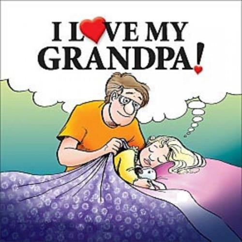 I Love My Grandpa! book
