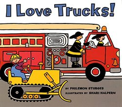 I Love Trucks! book