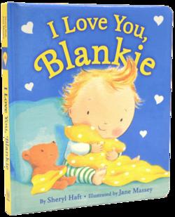 I Love You, Blankie book