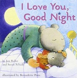I Love You, Good Night book