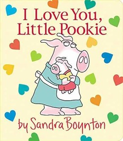 I Love You, Little Pookie Book