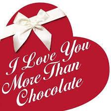 I Love You More Than Chocolate book