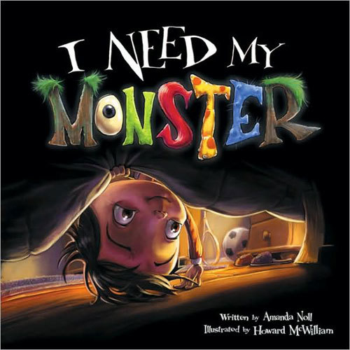 I Need My Monster book