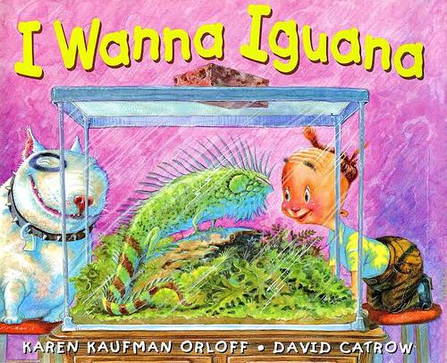 I Wanna Iguana book
