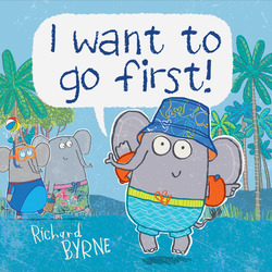I want to go first! book
