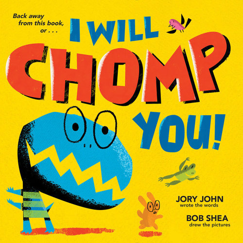 I Will Chomp You! book