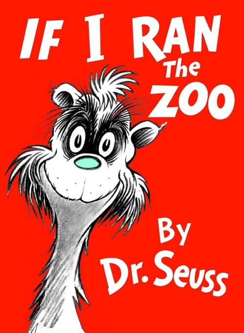 If I Ran the Zoo book