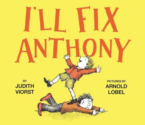 I'll Fix Anthony book