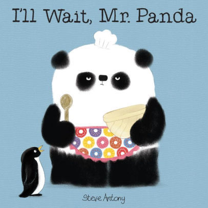 I'll Wait, Mr. Panda book