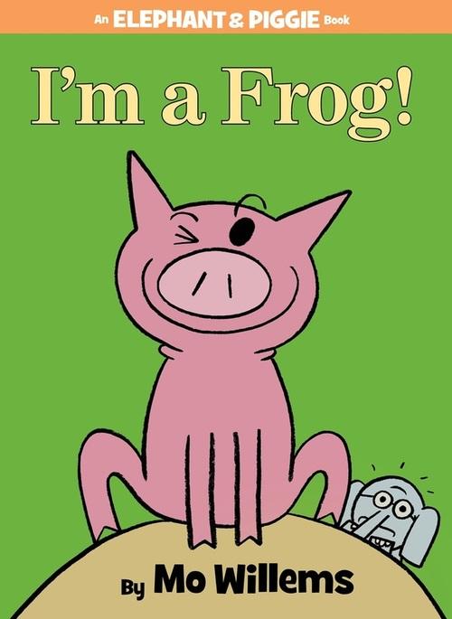 I'm a Frog! book