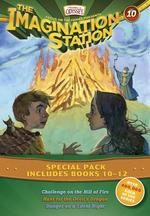 Imagination Station Books 3-Pack: Challenge on the Hill of Fire / Hunt for the Devil's Dragon / Danger on a Silent Night book