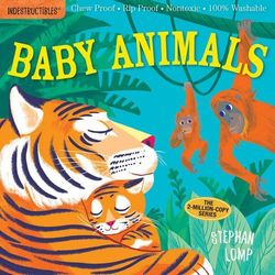 Indestructibles: Baby Animals book