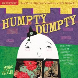 Indestructibles: Humpty, Dumpty book