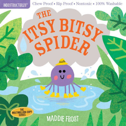 Indestructibles: The Itsy Bitsy Spider book