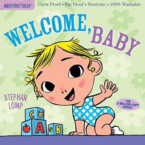 Indestructibles: Welcome, Baby book