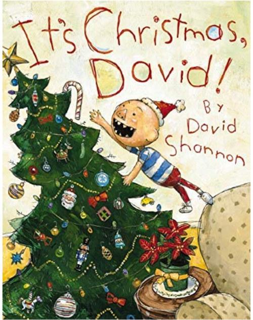 It's Christmas, David! book
